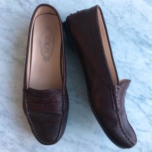 Tod's Leather Driving Shoes size 37.5